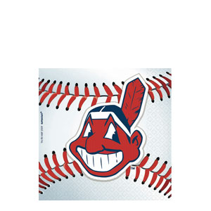 Cleveland Indians Beverage Napkins- 36ct