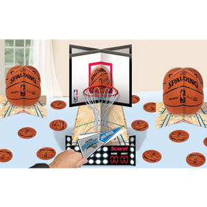 Spalding Basketball Table Decorating Kit- 83pc