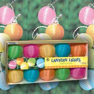 Round Lantern Light Set- 11ft
