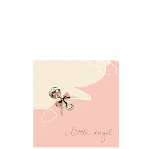 Little Angel Beverage Napkins