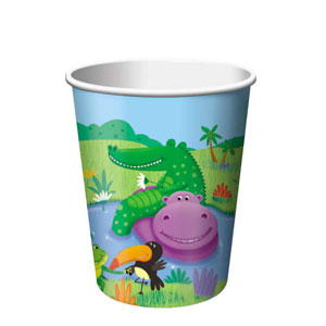 Jungle Buddies 9 oz. Cups- 8ct