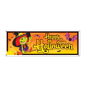 Happy Halloween Sign Banner - 5ft