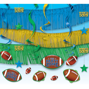 Football Giant Room Decorating Kit- 22pc
