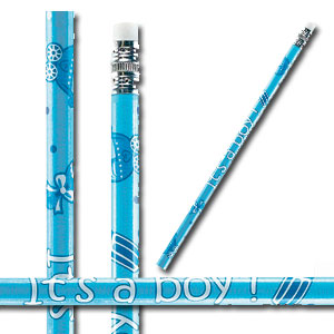 It's A Boy Pencil - Blue