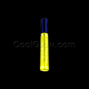 Kryolan Blacklight Reactive Hair Mascara Temporary Dye- Yellow