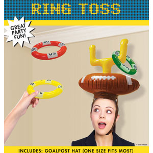 Inflatable Post Ring Toss- 4pc