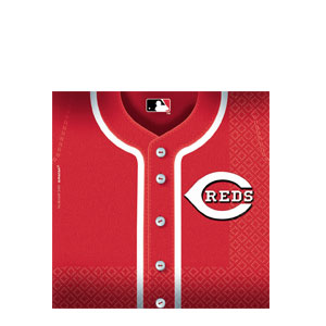 Cincinnati Reds Luncheon Napkins- 36ct