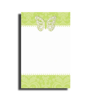 Honeydew Imprintable Invitations- 12ct