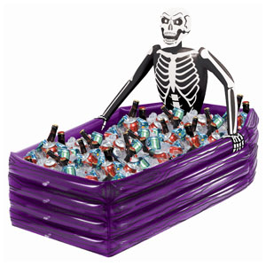 Inflatable Skeleton Cooler- 43in