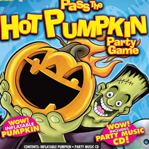 Pass the Hot Pumpkin Party Game- 2pc