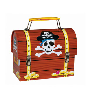 Metal Pirate Party Box