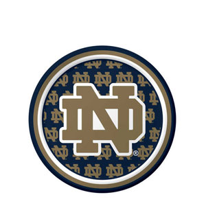 Notre Dame 7 Inch Luncheon Plates- 8ct