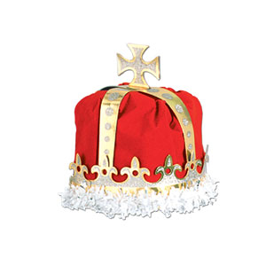 Royal King Crown - Red