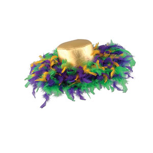 Mardi Gras Feathers Hat