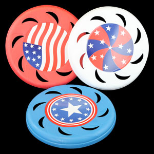 Flying Colors Frisbees - 5ct