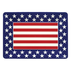 All American 16 Inch Plastic Tray