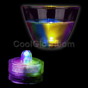LED Submersible Waterproof Deco Light - Multicolor
