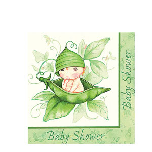 Sweet Pea Luncheon Napkin