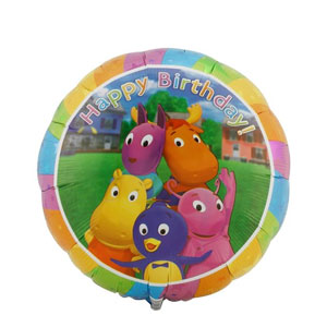 Backyardigans Happy Birthday Balloon- 18in