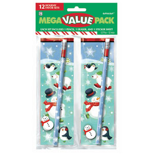 Winter Friends Favor Sets- 12ct