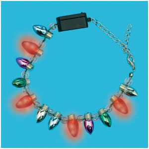 Christmas Light Up Bracelet- 7 Inch