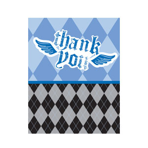 Little Rebel Thank You Cards - 8ct