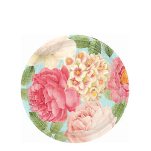 Blissful Blooms 7 Inch Plates- 18ct