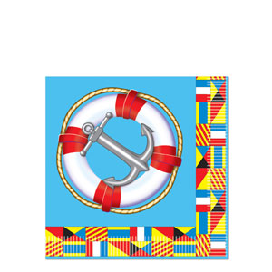 Nautical Luncheon Napkins- 16ct