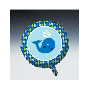Ocean Preppy Balloon - Metallic