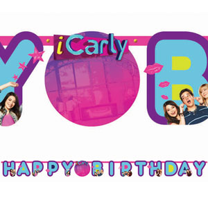 iCarly Add-An-Age Letter Banner- 10ft