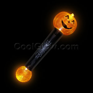 LED Crystal Ball Pumpkin Wand