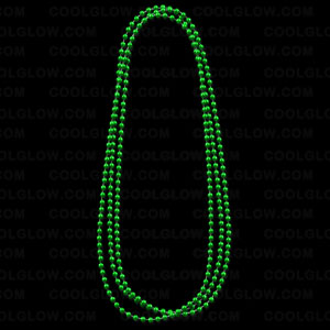 Beads- Metallic Green