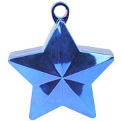 Star Balloon Weight - Blue