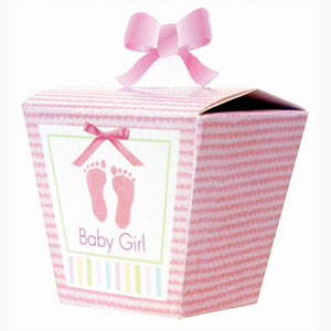 Favor Boxes - Baby Soft Pink