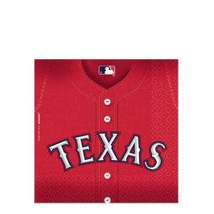 Texas Rangers Luncheon Napkins- 36ct