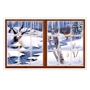 Winter Insta-View - 3x5ft