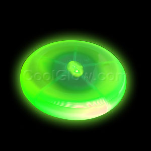 LED Frisbee 8 Inch - Green