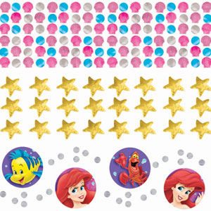 Disney Little Mermaid Confetti- Assorted
