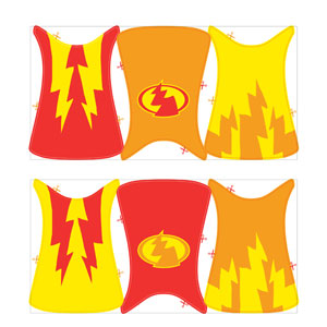 Superhero Fun Create-A-Cape