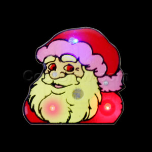Flashing Santa Claus Blinky
