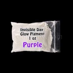 Glominex Glow Pigment 1 oz - Invisible Day Purple