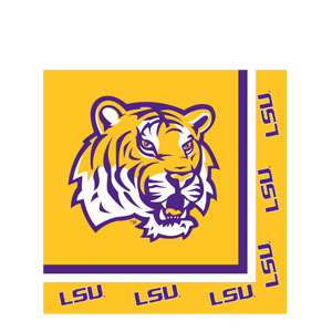 LSU Luncheon Napkins