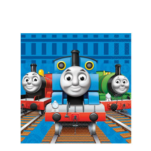 Thomas and Friends Luncheon Napkins- 16ct