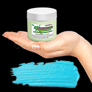 Glominex Glow Paint Invisible Day 8 oz Jar Aqua