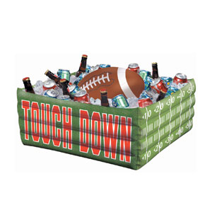 Football Fan Inflatable Cooler- 29in