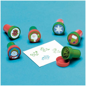 Christmas Stamper Set- 6ct