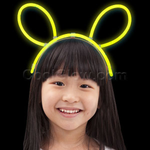 Glow Headband - Yellow