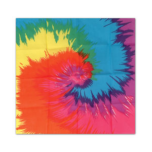 Tie-Dyed Bandana - 22in