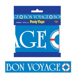 Bon Voyage Party Tape- 20ft