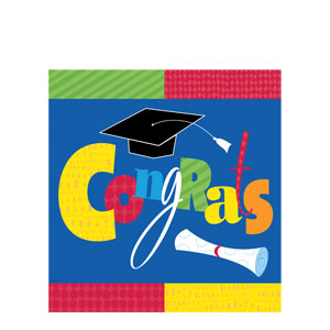 Fun Grad Plastic Tablecover